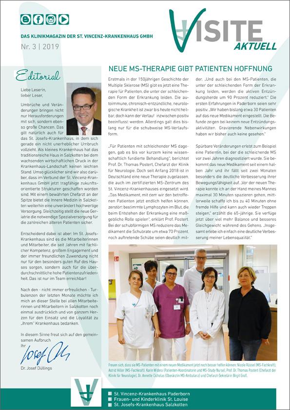 Klinikmagazin Visite